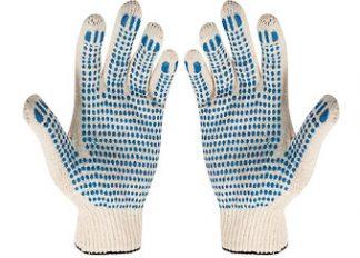 Перчатки ТРИКОТАЖНЫЕ, с ПВХ покрытием
